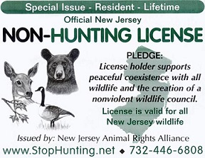 Non hunting license